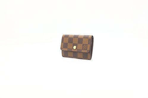 Louis Vuitton Coin Case Damier Ebene DE LV