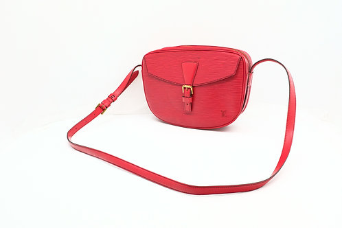 Louis Vuitton Jeune Fille in Red Epi Leather