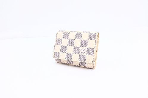 Buy pre owned Louis Vuitton wallet Damier Azure