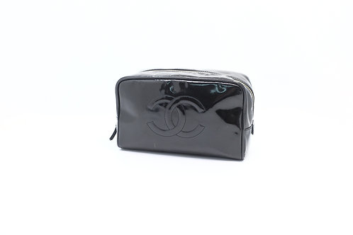 Chanel Timeless Patent Toiletry Pouch