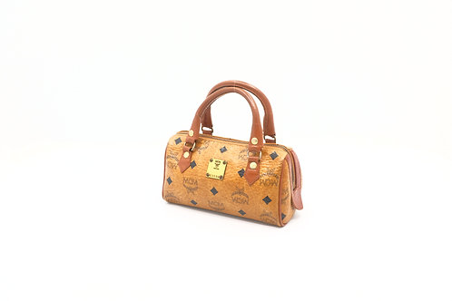 MCM Mini Boston Bag