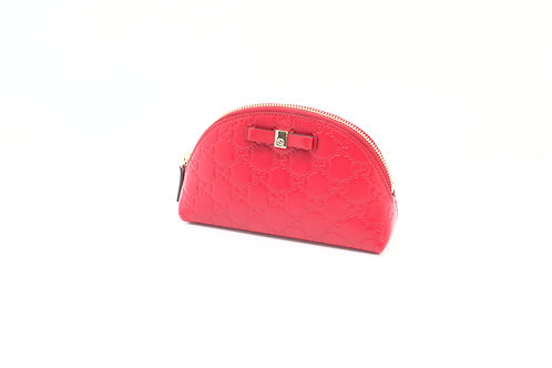 Gucci Guccissima Leather Cosmetic Pouch