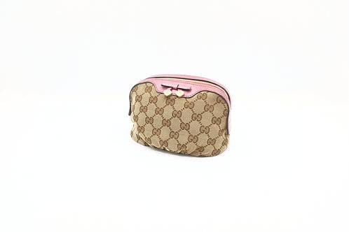 Buy preloved Gucci GG canvas Cosmetics pouch