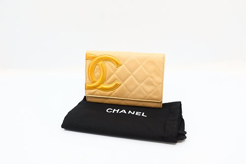Buy pre owned Chanel Cambon coin card wallet