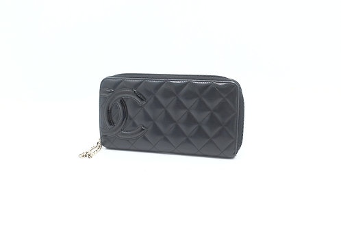 Chanel Cambon Long Zipped Wallet