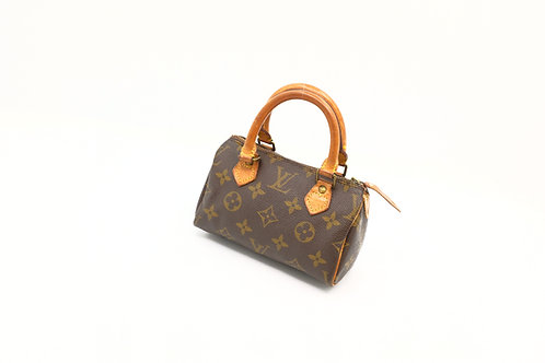 Louis Vuitton Vintage Mini Speedy with Strap
