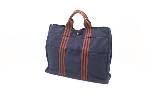 Hermes Forre-Tout Canvas Tote