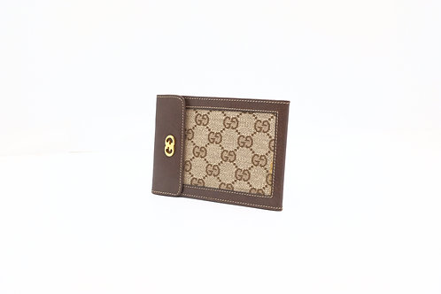 Gucci GG Canvas Vintage Wallet Pouch
