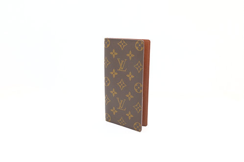 Louis Vuitton Checkbook Cover Billfold Wallet