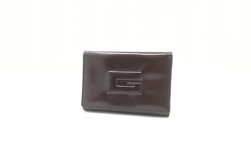 Buy preloved Gucci Patent Leather Trifold Wallet