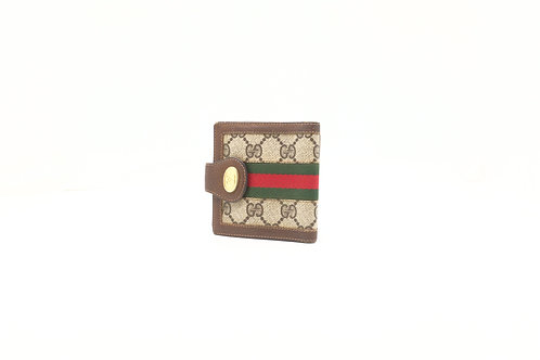 Gucci Bifold Wallet in GG Canvas