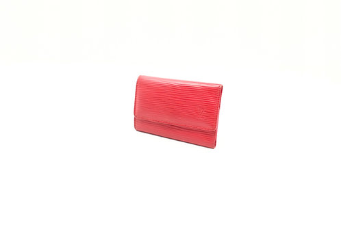 Louis Vuitton Multicles 6 Key Holder in Red Epi Leather
