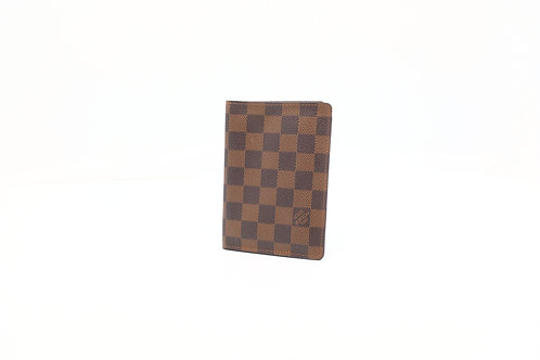 Louis Vuitton Passport holder Damier Ebene DE canvas