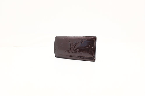 Louis Vuitton Multi Cles 4 Key Holder in Amarante Vernis Leather