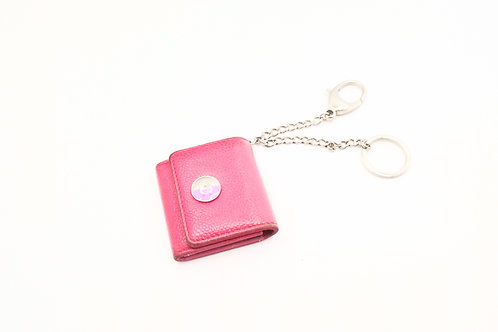 Chanel Key Case in Pink Caviar Leather