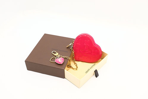 buy preloved authentic Louis Vuitton Vernis Heart Coin Case