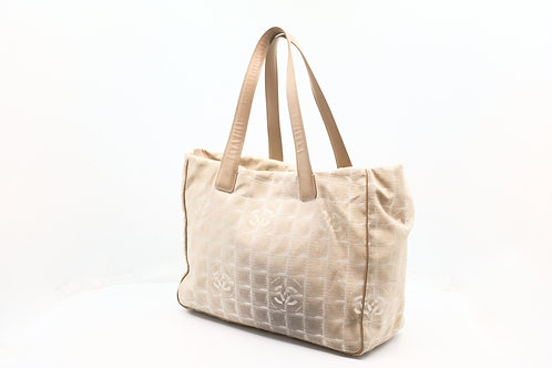 Chanel New Travel Line Tote in Beige