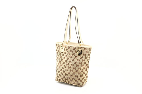 Gucci GG Canvas Shoulder Tote