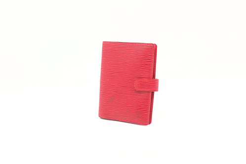 Louis Vuitton Agenda PM Epi red