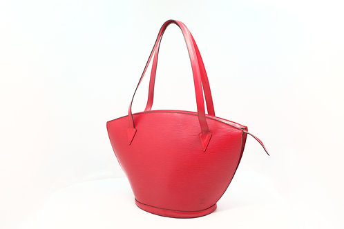 Louis Vuitton Saint Jacques Shopping Epi red