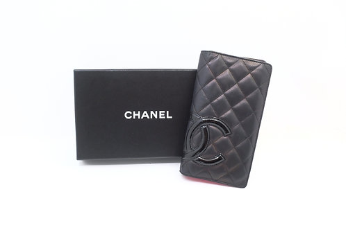 Chanel Cambon Long Billfold Wallet