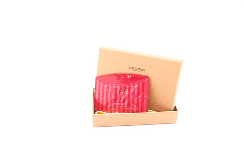 Buy pre loved Louis Vuitton Vernis Rayures Card case