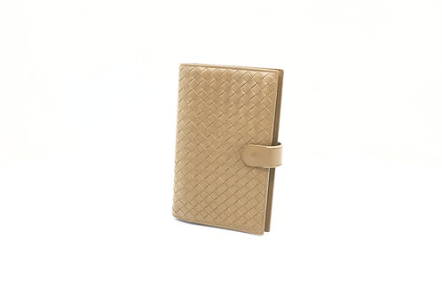 Bottega Veneta Agenda MM in Beige