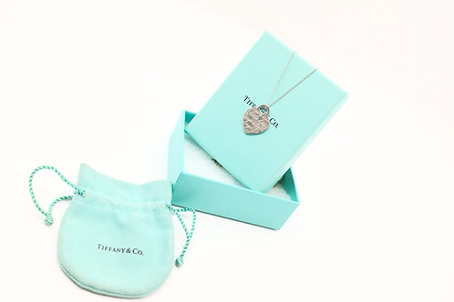 Tiffany & Co. Dream a Little Dream Heart Charm Necklace