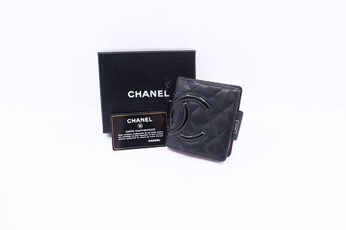 buy preloved Chanel Cambon Line Compact Wallet