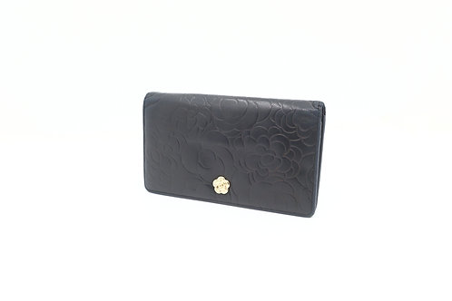 Buy preloved Chanel Camellia Long Wallet