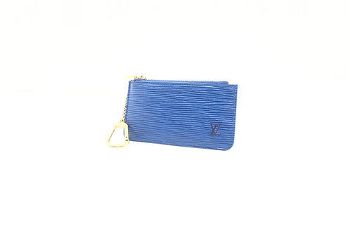 Buy preloved Louis Vuitton Cles Epi blue