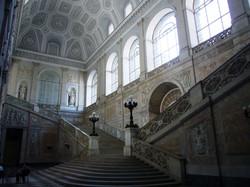 scalone di palazzo reale