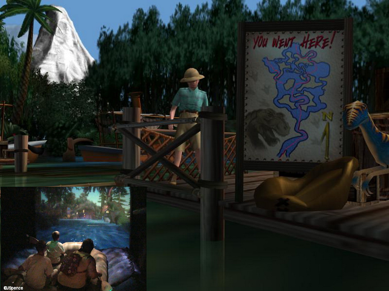 Disney Virtual Jungle Cruise