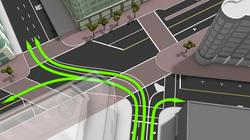 Concept: Lane level navigation