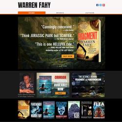 Author Warren Fahy website