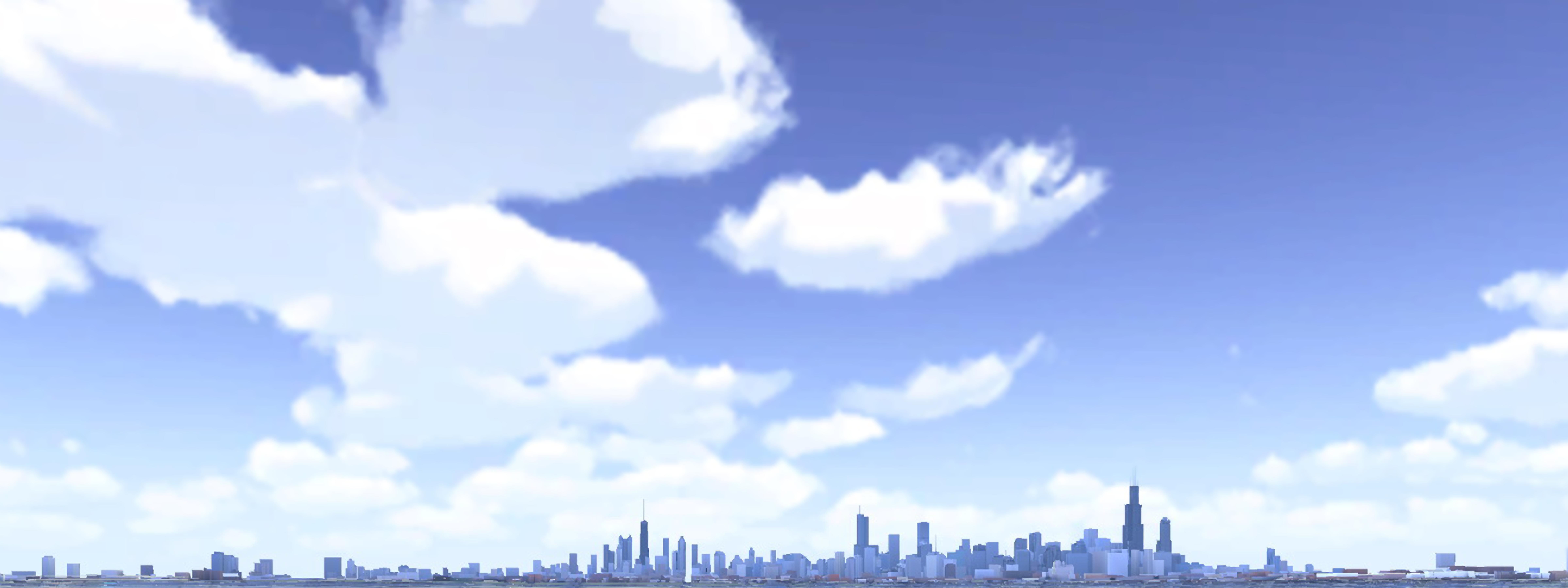 3D Map skyline