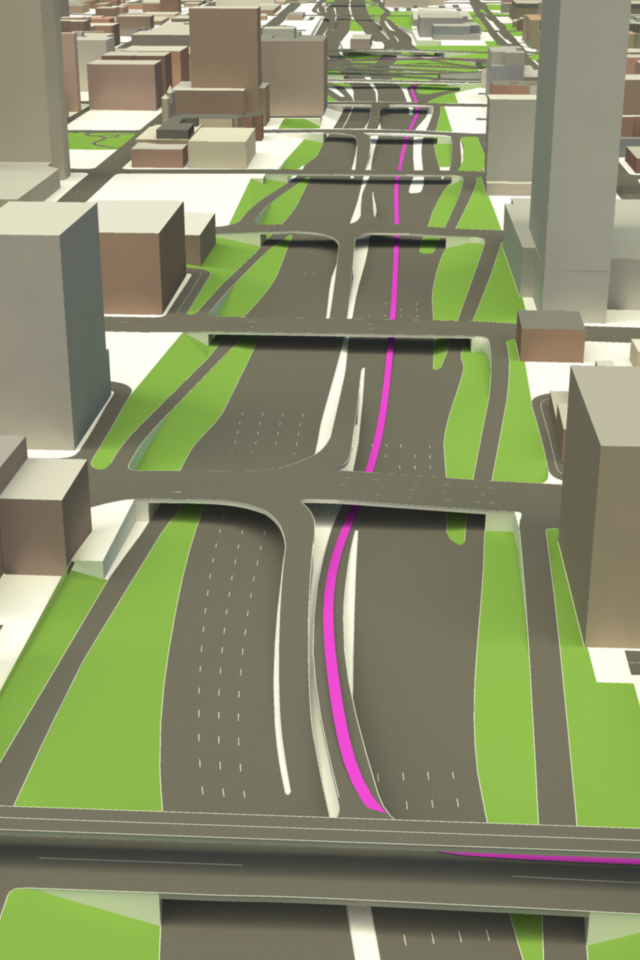 3D roadways