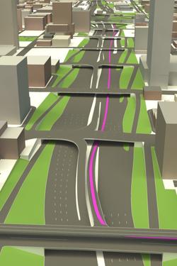 3D roadways