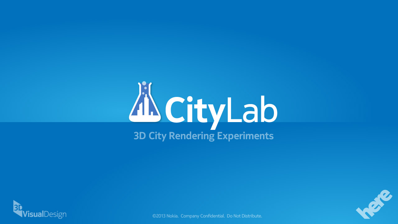 CityLab splash screen
