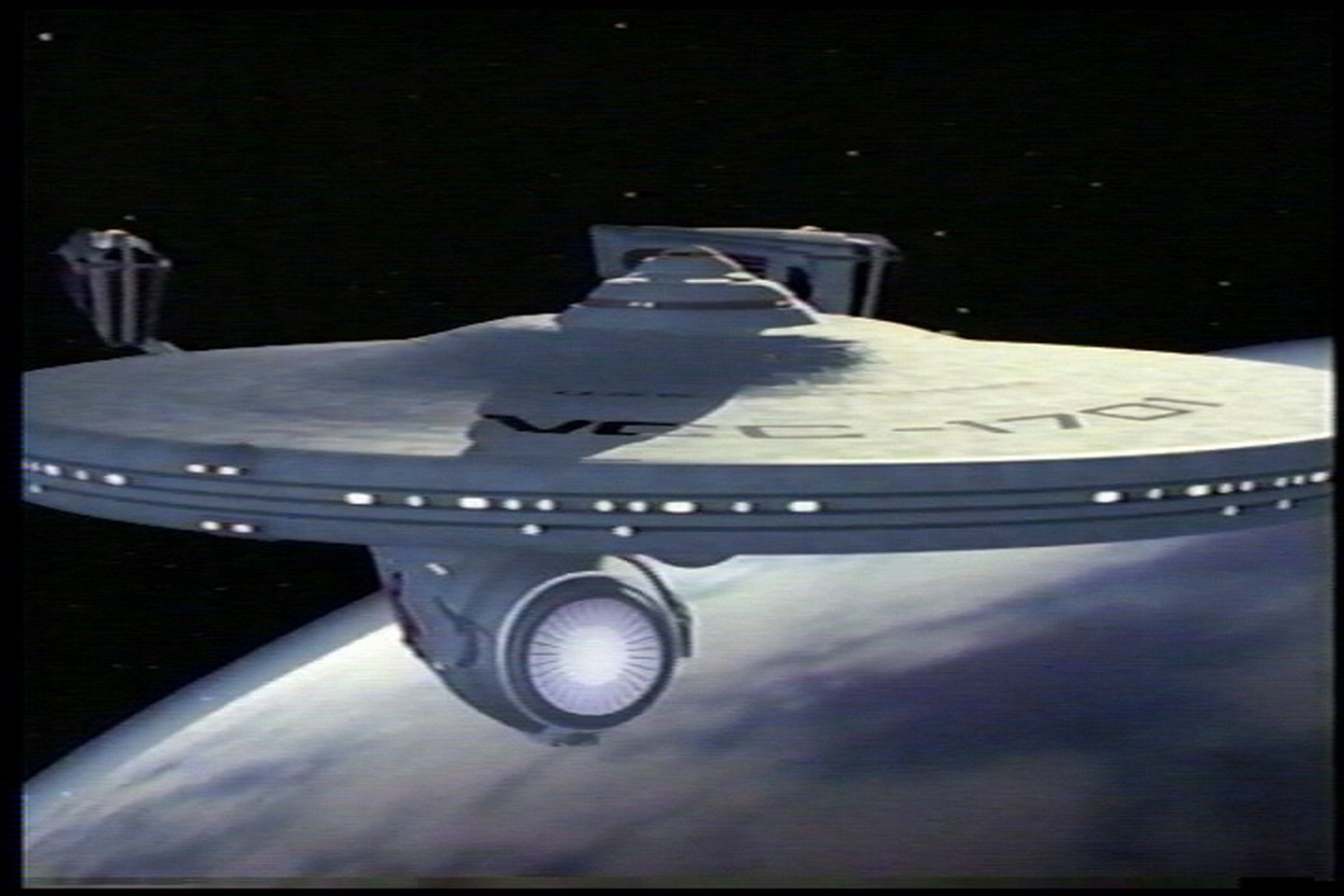Star Trek CG screen test 1986