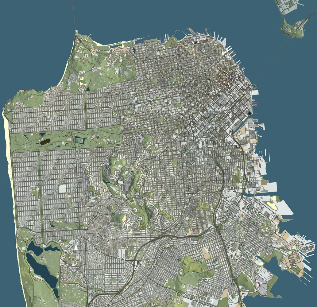 3D Map: San Francisco