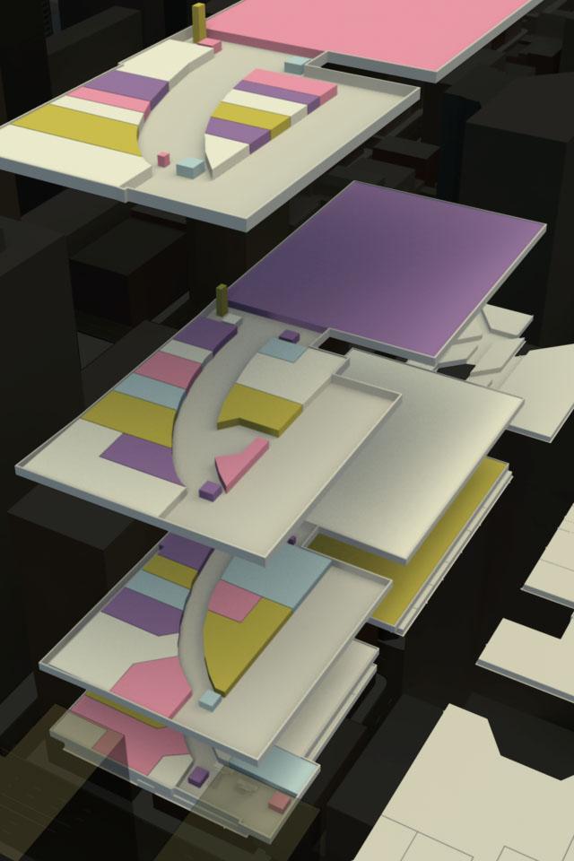 3D interior maps