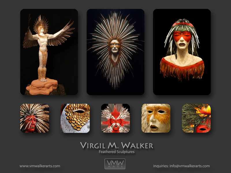 Artist Virgil M. Walker website
