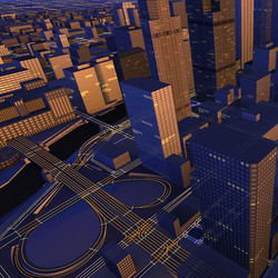 3D Map with lane-level road model