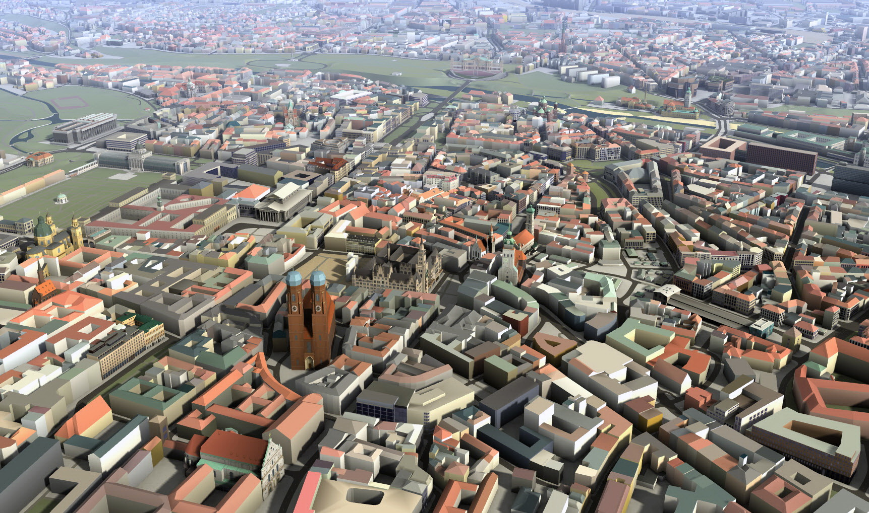 3D Map: Munich