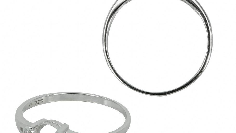 Split Shank Heart Ring