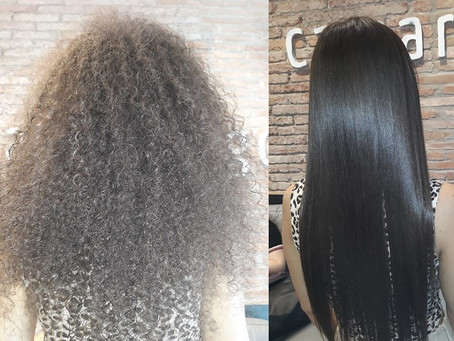 Keratina para cabello afro