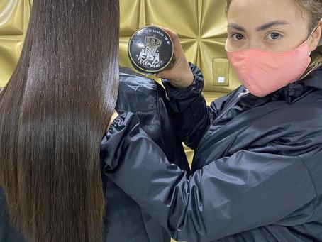 Keratina para cabello crespo