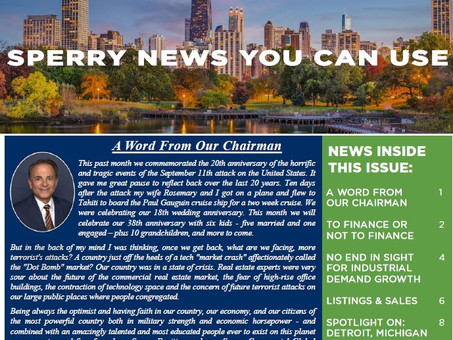 Sperry News You Can Use Q3 2021