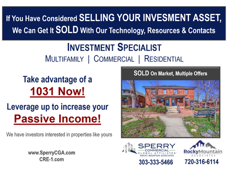 Considered Selling your Investment Asset?